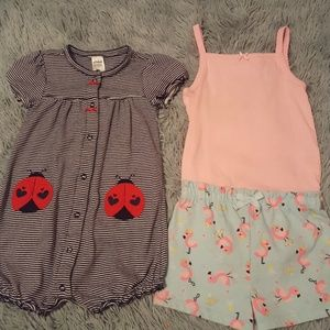 💎2for18 baby girl 24 months bundle